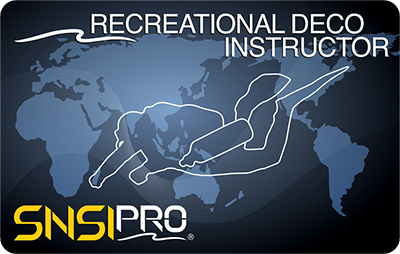 RECREATIONAL DECO INSTRUCTOR